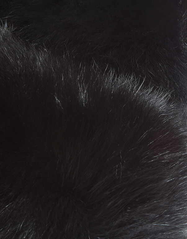 """fur collar """"sea side"""""""