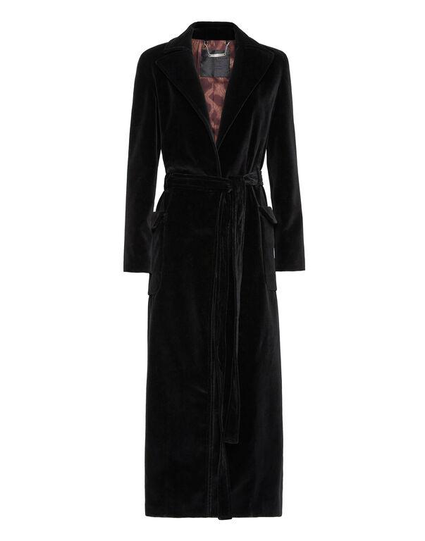 Velvet Coat Long