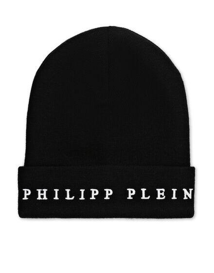 Wool Blend Hat Philipp Plein TM