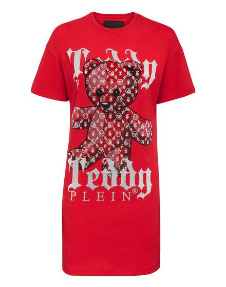 T-Shirt Short Dresses Monogram Teddy Bear