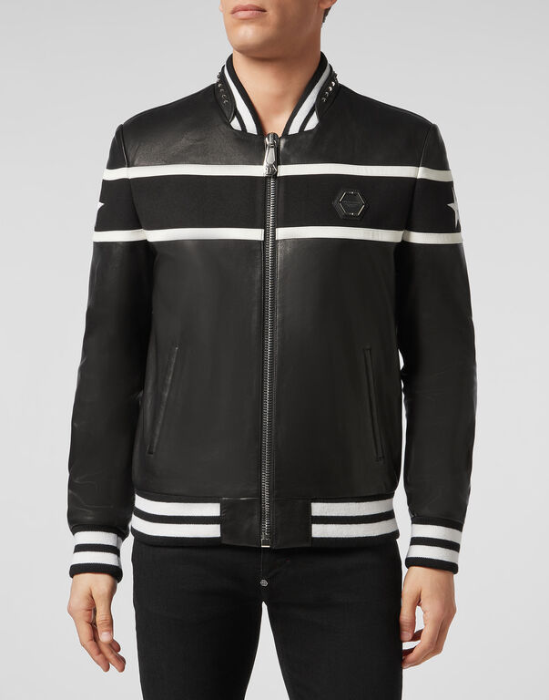 Leather Bomber PP1978