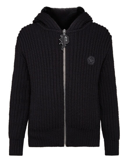 Knit Jacket Gothic Plein