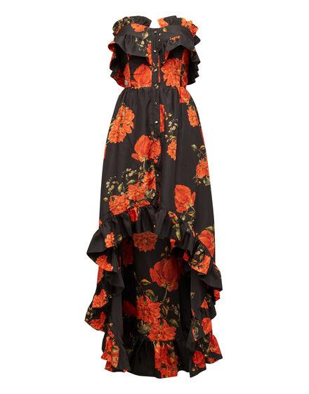 Long Dress Full Of Flower