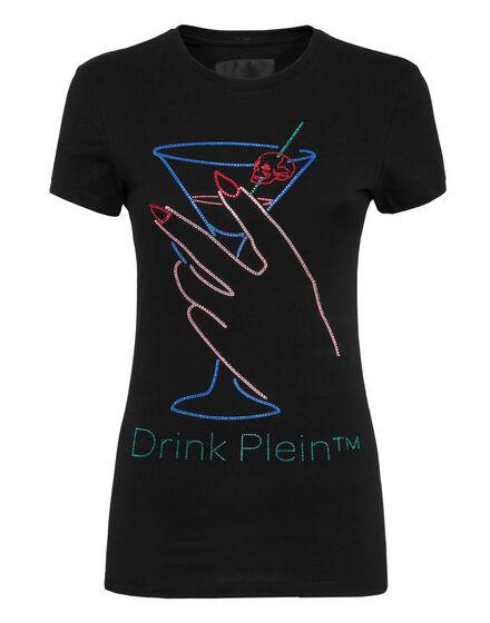 T-shirt Round Neck SS Neon Drink