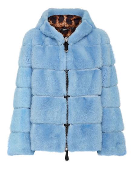 Mink Fur Bomber Luxury