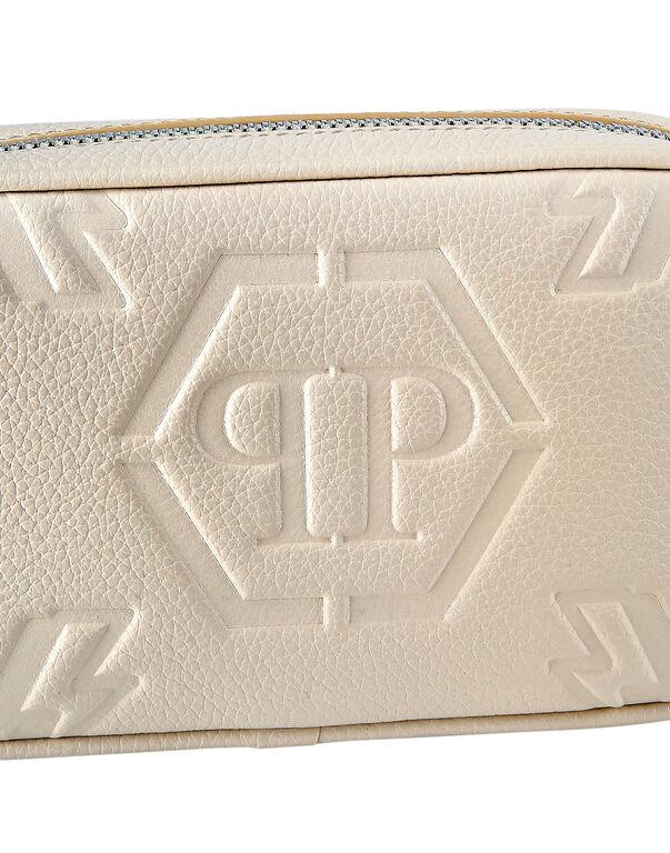 Leather Clutch Monogram
