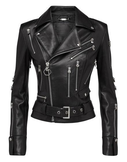 Leather Biker Dark