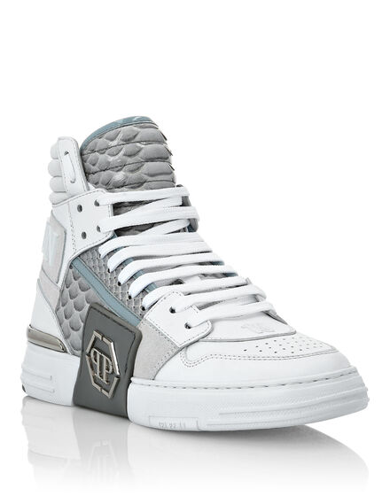 Python PHANTOM KICK$ Hi-Top Sneakers Luxury