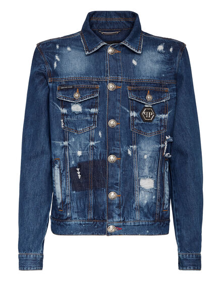 Denim Jacket Teddy Bear
