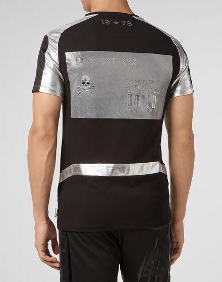 T-shirt Round Neck SS XYZ Geometric