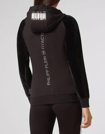 Hoodie Sweatjacket  XYZ Code