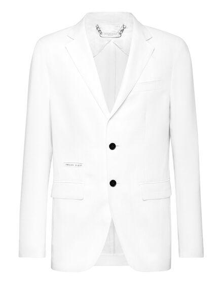 Linen Blazer Regular Fit Iconic Plein