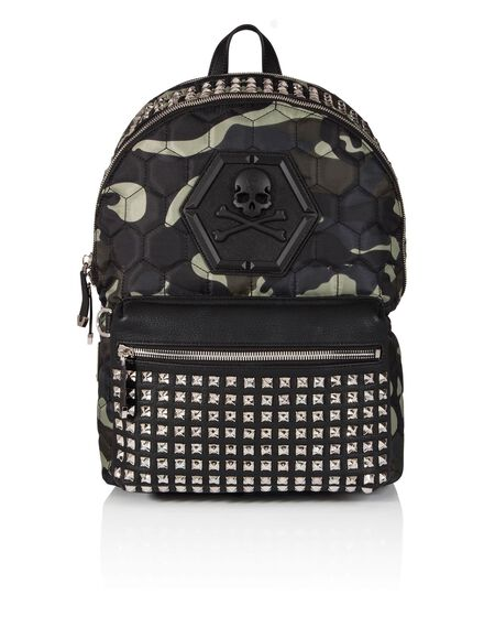 Backpack Camu skull