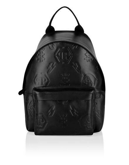 Leather Backpack Monogram