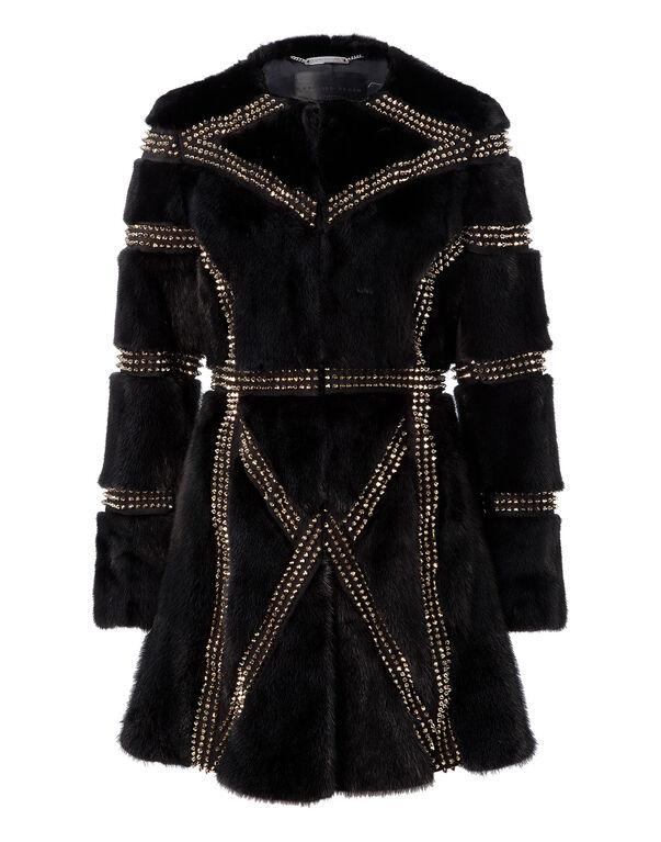 "fur coat ""the cagebird"""