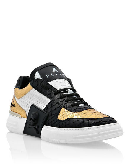 PHANTOM KICK$  Lo-Top Sneakers Gold