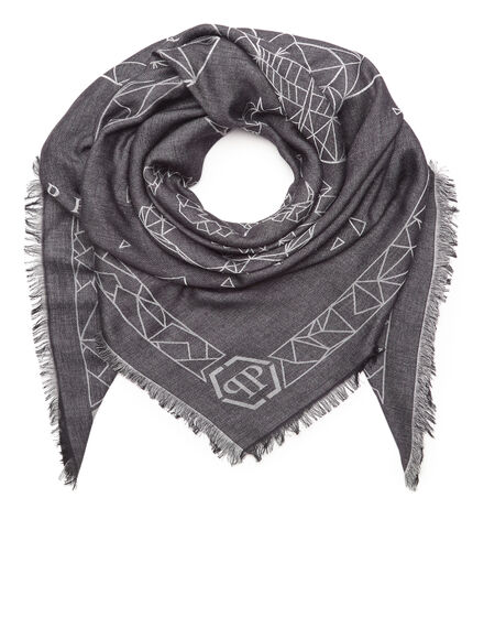 Square Scarf Skull for six
