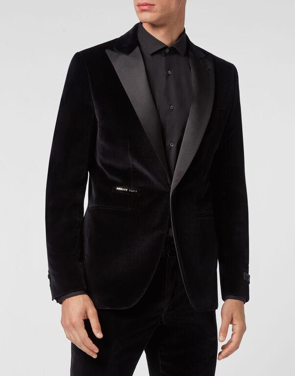 Velvet Blazer Lord Fit Elegant