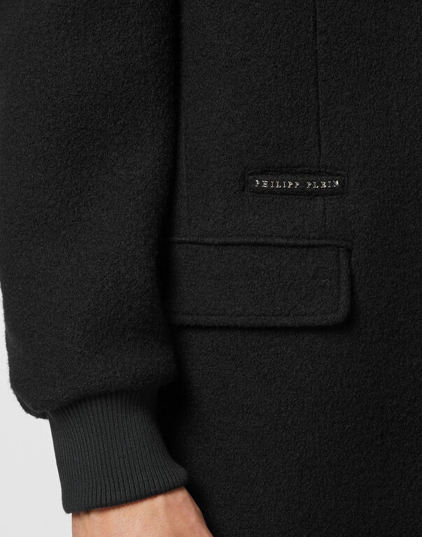 Wool Parka Iconic Plein