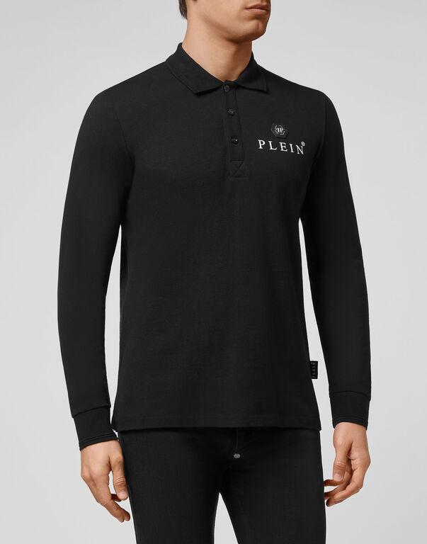 Polo shirt LS Iconic Plein