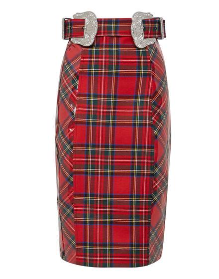 Short Skirt Tartan